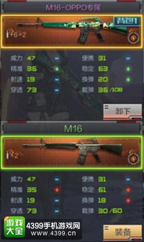 CF手游M16-OPPO怎么样