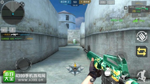CF手游M16-oppo使用技巧