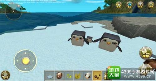 迷你世界怎么养企鹅