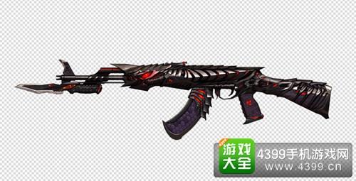 CF手游AK47黑武士