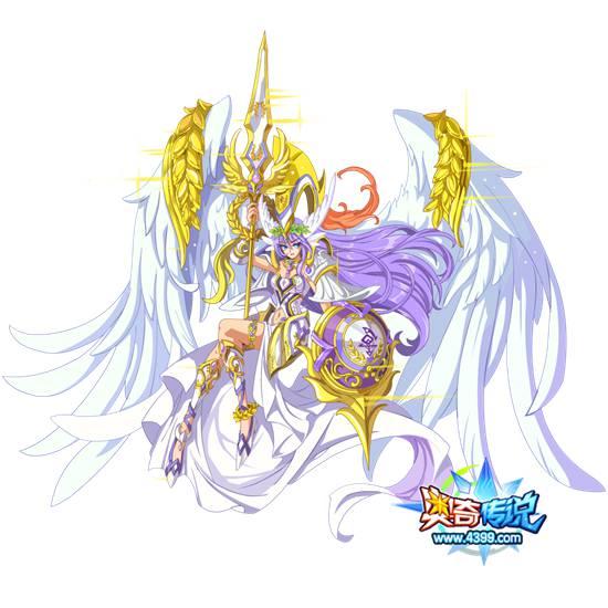 奥奇传说胜利女神雅典娜高清大图,奥奇传说胜利女神雅典娜图片
