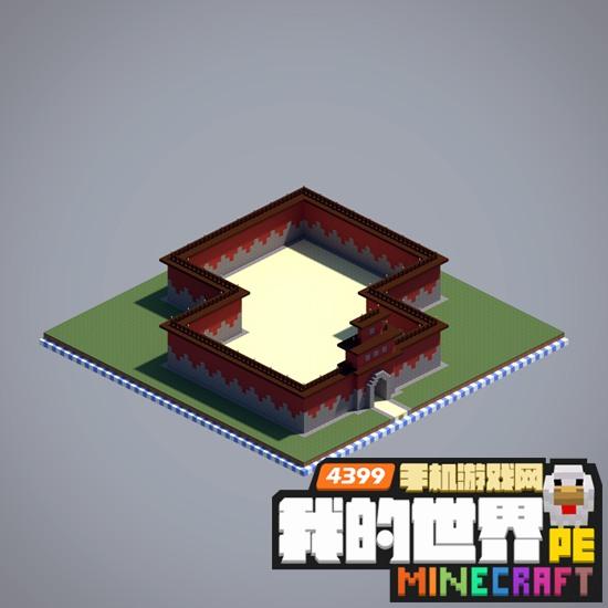 我的世界建筑设计 16种城墙设计图大全