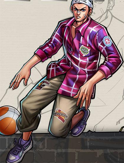 街头篮球手游小前锋甜瓜怎么样