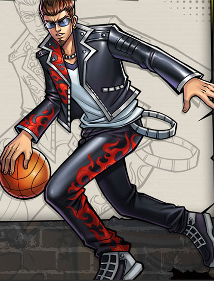 街头篮球手游小前锋小瑞怎么样