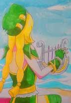 英雄之境绘画作品-海之天籁