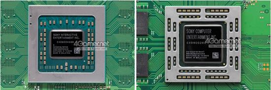 vr虚拟现实 硬件资讯 vr硬件资讯 >正文  主板部分,ps4 pro采用了一块