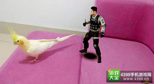 CF手游AR技术玩法