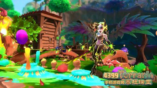 泰拉瑞亚森林女神