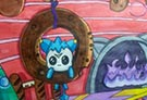 洛克王国手绘之迪莫的梦境