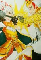 英雄之境绘画作品-楚汉争霸