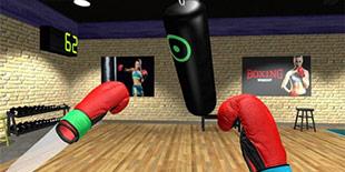 安利减肥新玩法 男子玩VR游戏瘦身成功