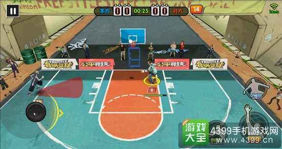 街头篮球手游反板怎么抢