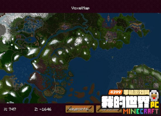 我的世界1.11voxelmap下载