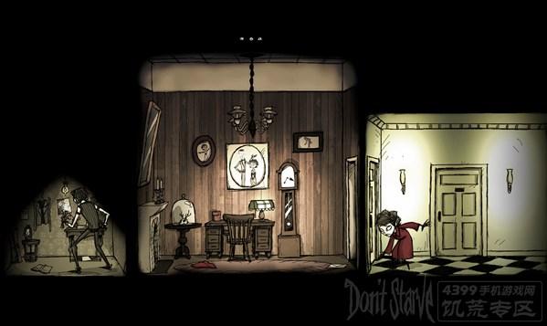 饥荒剧情漫画 查理的黑暗发现