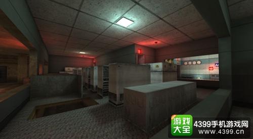 CF手游幽灵模式地下研究所