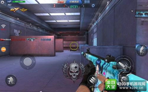 生死狙击手游HK416爱丽丝