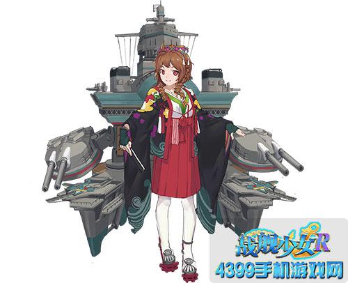 战舰少女r伊势改新立绘