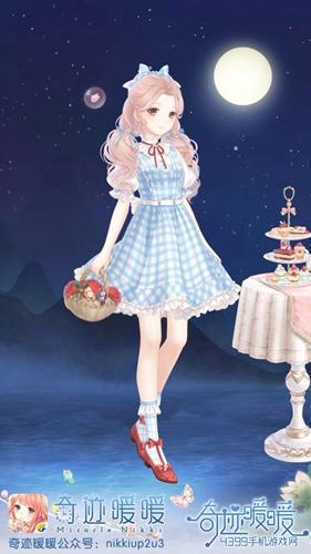 奇迹暖暖非成就套装之糖衣童话套装