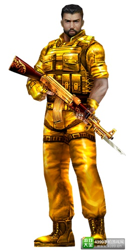 生死狙击手游黄金比伯