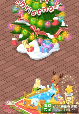 《花语学园》温馨圣诞小屋曝光