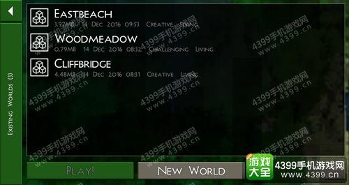 生存战争2怎么进入创造模式 Survivalcraft 2如何选择游戏模式