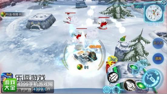 坦克之战冰雪大乱斗