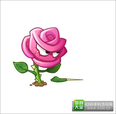 植物大战僵尸2玫瑰剑客