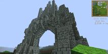 我的世界pe哥特式城门怎么做 手机版城门制作教程