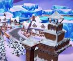 完美漂移冰川小镇
