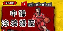 街头篮球手游C涂鸦搭配推荐 C中锋涂鸦推荐详解