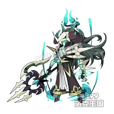 洛克王国恶魔系精灵王图片
