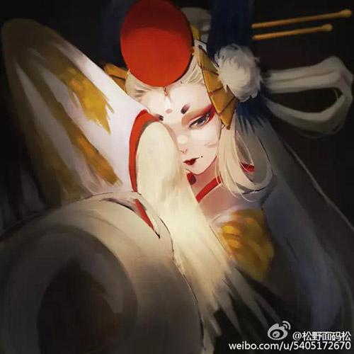 阴阳师姑获鸟图