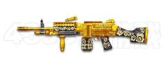 战争使命黄金M249