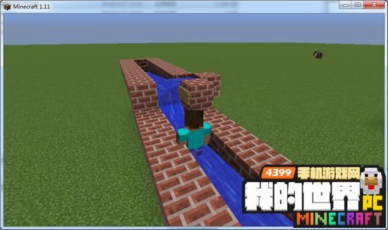 我的世界自动水梯怎么做