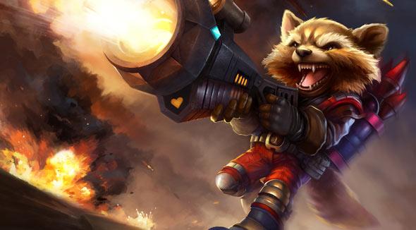 创世联盟爆裂浣熊