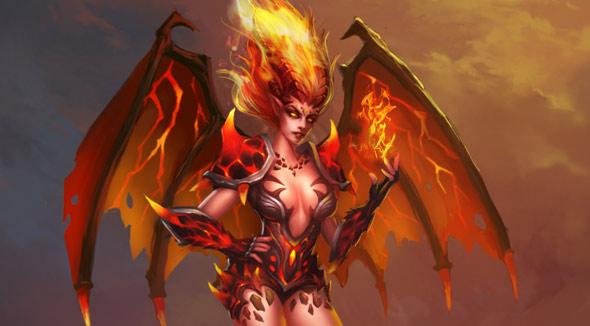 创世联盟魔焰女皇
