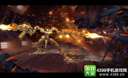 《机甲先锋》删档测试1月22日火爆来袭