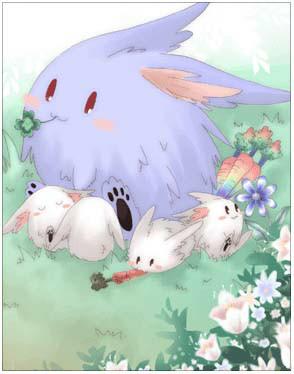 仙境传说ro蓝疯兔卡片图鉴