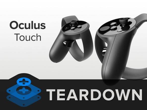 Oculus Touch手柄拆解