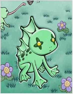 仙境传说ro罗达蛙卡片图鉴