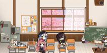 少女前线春日课堂主题家具套装 回忆校园生活