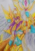 英雄之境绘画作品-原创英雄雅典