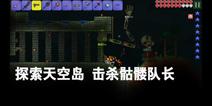 【昊呆】泰拉瑞亚手机版EP6探索天空岛&击杀骷髅队长