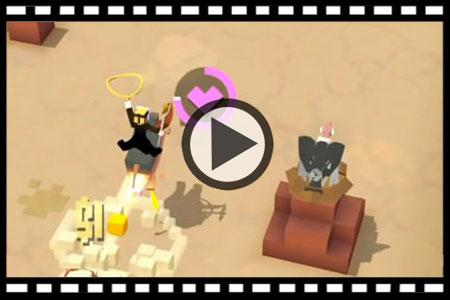 疯狂动物园暗黑野牛怎么抓 暗黑野牛视频攻略