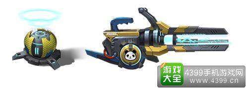 枪火战神潘塔武器