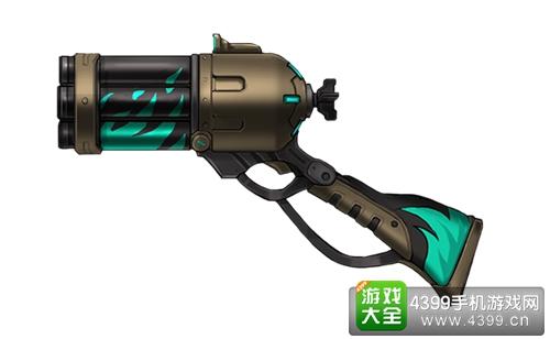 枪火战神狂徒雷登武器