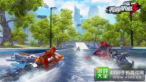 激流快艇3游戏画面
