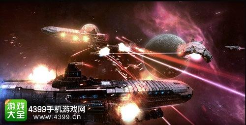 银河掠夺者太空场景