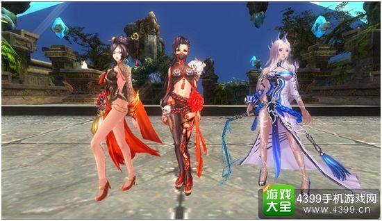 九州天空城角色画面