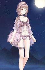 奇迹暖暖蕾丝睡衣